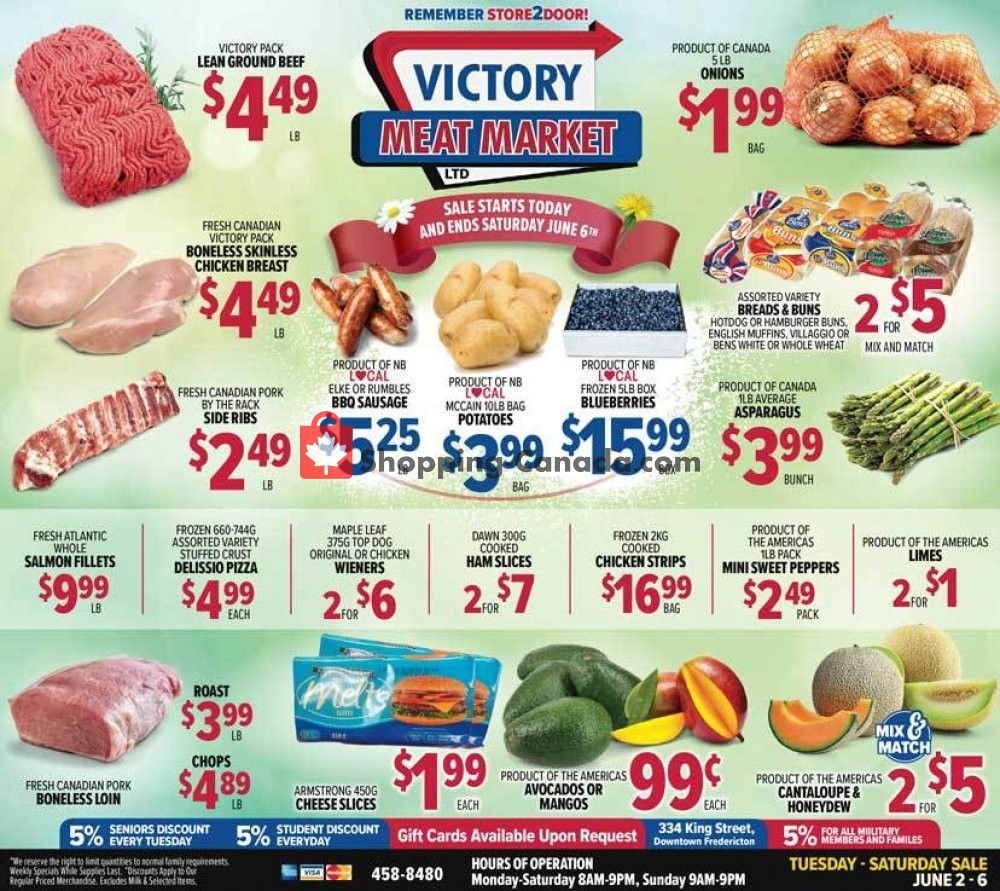 Flyer Victory Meat Market  Canada - from Tuesday June 2, 2020 to Saturday June 6, 2020