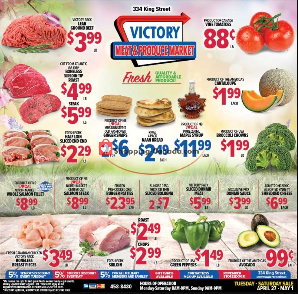 Flyer Victory Meat Market  Canada - from Tuesday April 27, 2021 to Saturday May 1, 2021