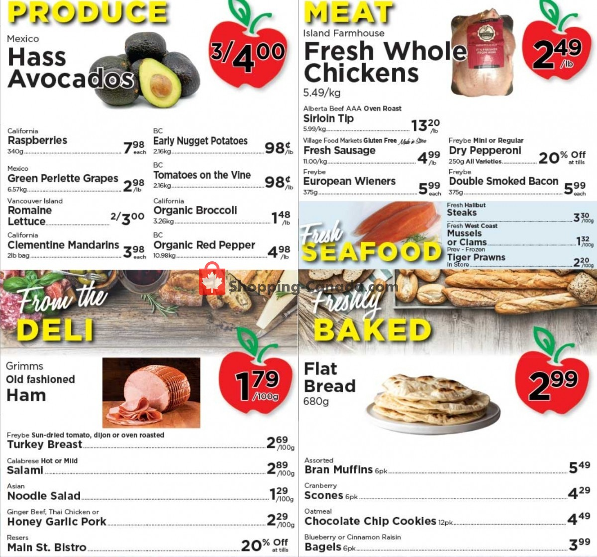 Flyer Village Food Market Canada - from Wednesday June 2, 2021 to Tuesday June 8, 2021