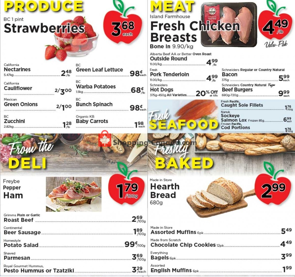 Flyer Village Food Market Canada - from Wednesday June 9, 2021 to Tuesday June 15, 2021