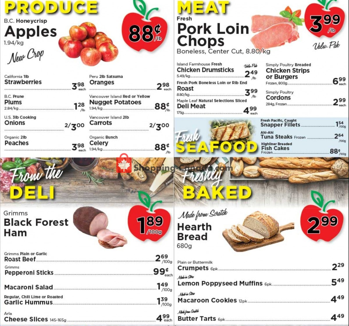 Flyer Village Food Market Canada - from Wednesday September 8, 2021 to Tuesday September 14, 2021