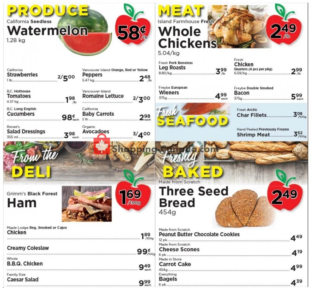Flyer Village Food Market Canada - from Wednesday June 3, 2020 to Tuesday June 9, 2020