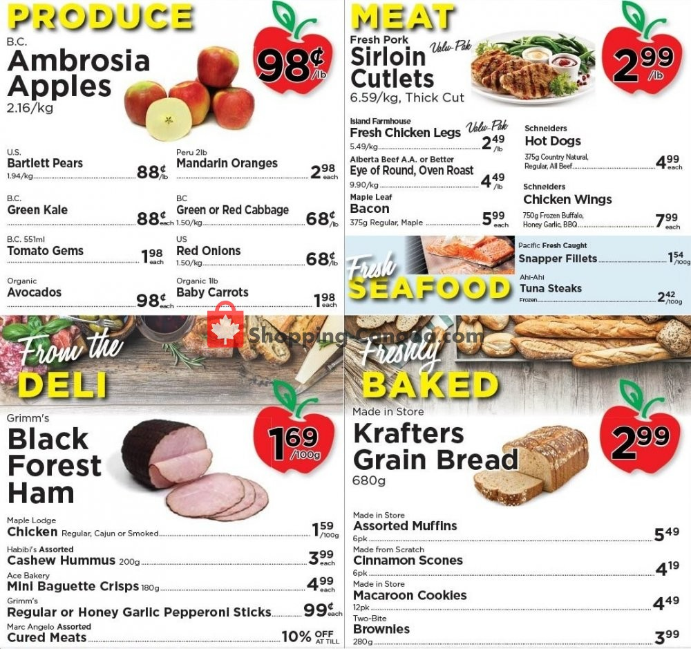 Flyer Village Food Market Canada - from Wednesday October 14, 2020 to Tuesday October 20, 2020