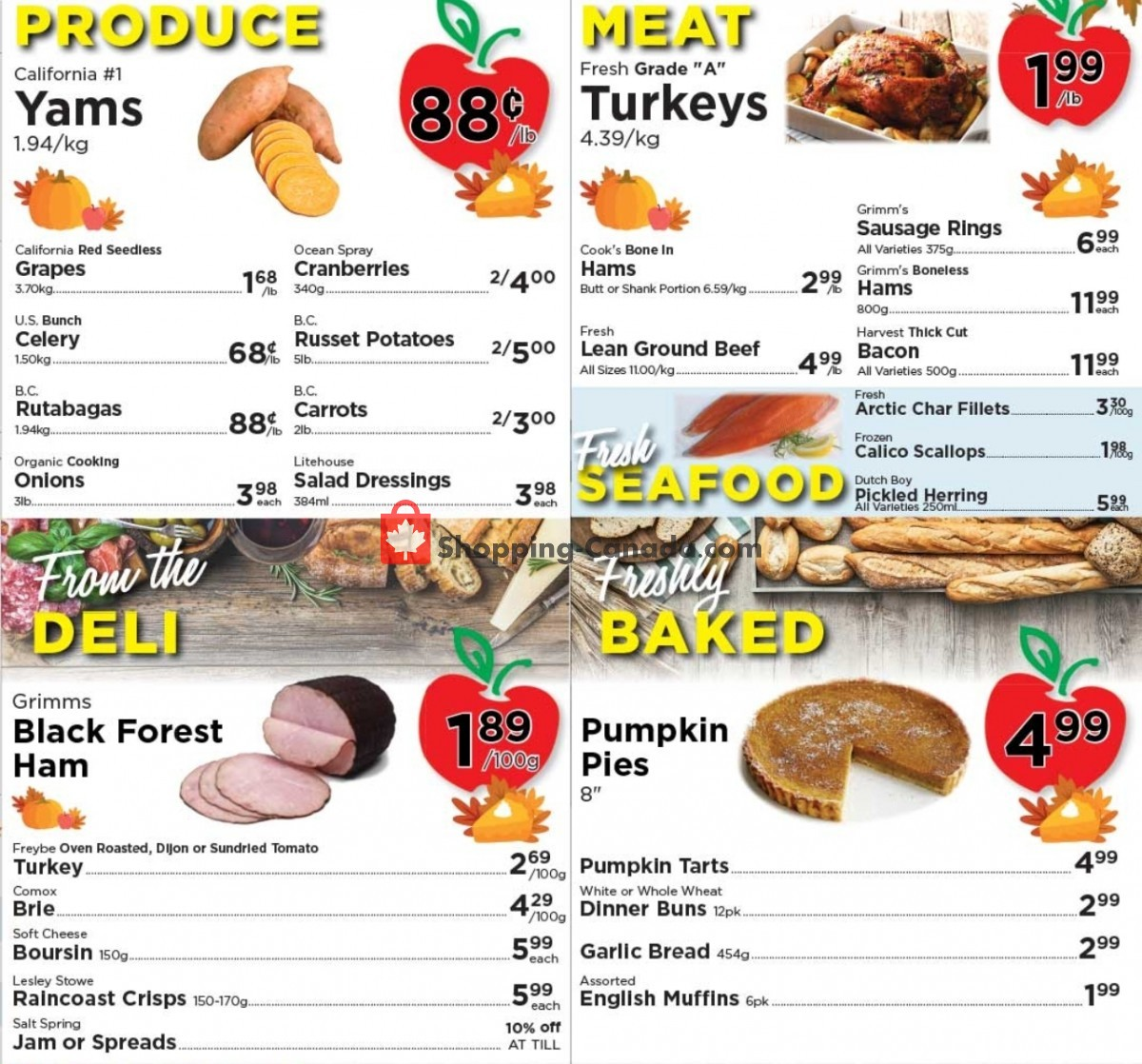 Flyer Village Food Market Canada - from Wednesday October 6, 2021 to Tuesday October 12, 2021