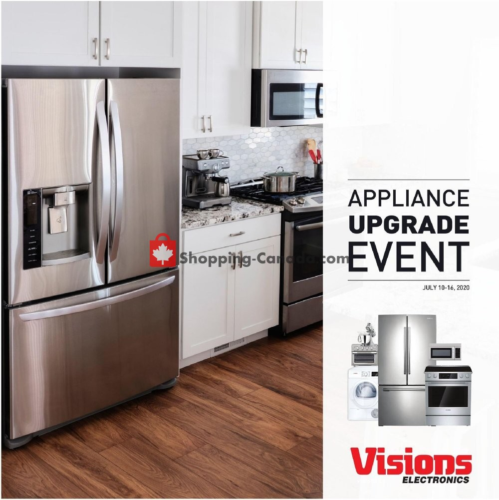 Flyer Visions Electronics Canada - from Friday July 10, 2020 to Thursday July 16, 2020