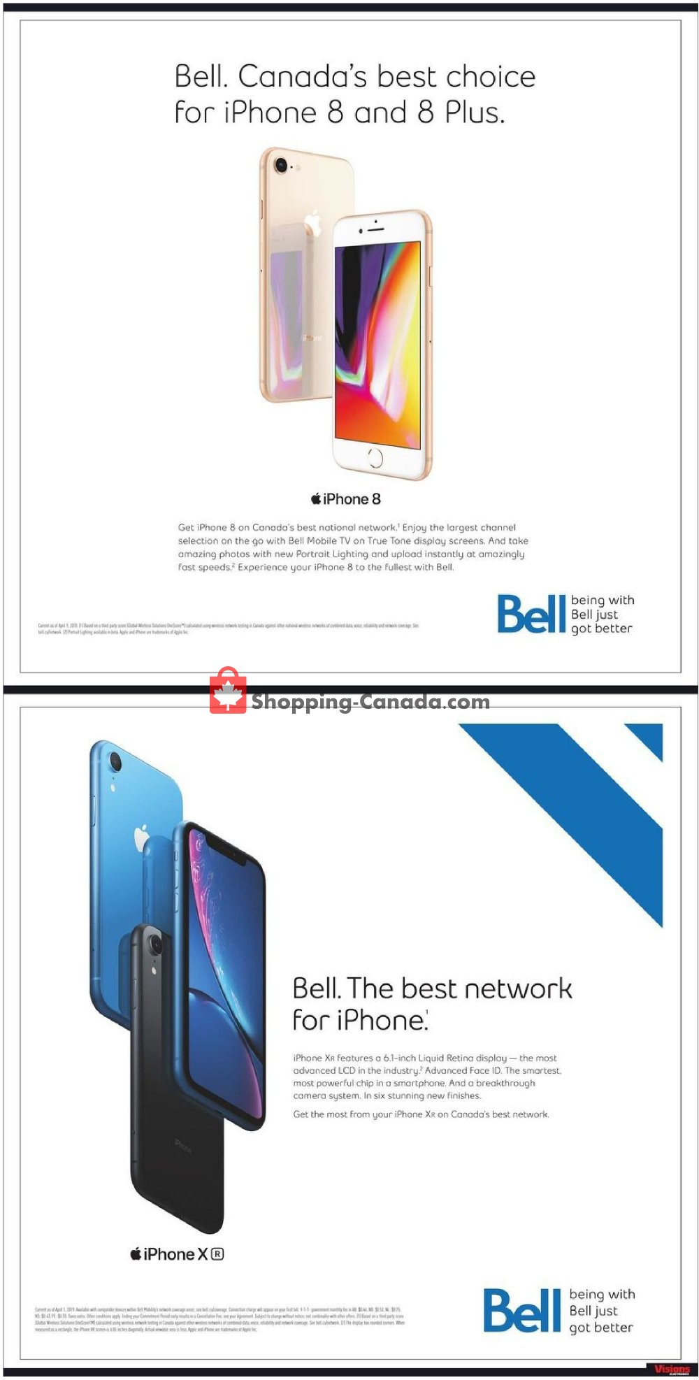 Flyer Visions Electronics Canada - from Friday October 4, 2019 to Thursday October 10, 2019