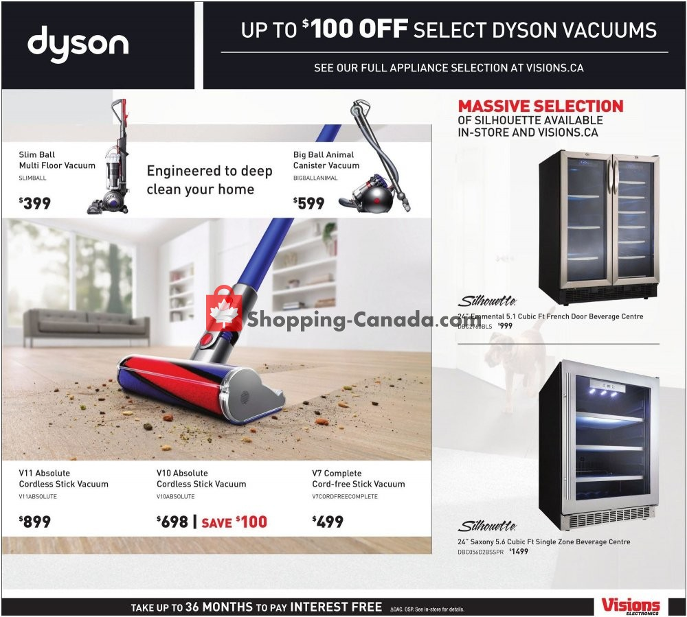 Flyer Visions Electronics Canada - from Friday July 12, 2019 to Thursday July 18, 2019