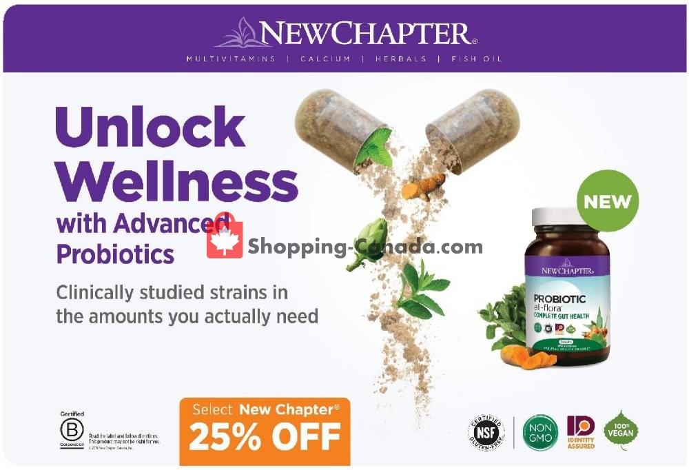 Flyer Vita Health Fresh Market Canada - from Friday October 4, 2019 to Sunday October 20, 2019
