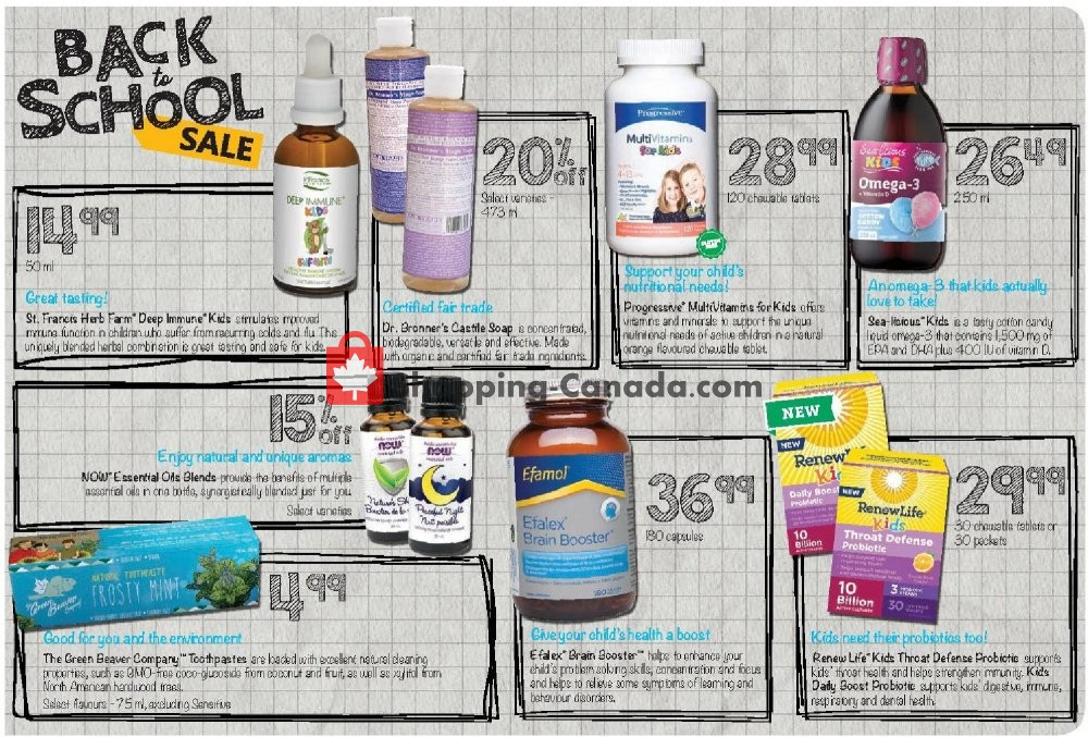 Flyer Vita Health Fresh Market Canada - from Friday September 6, 2019 to Sunday September 22, 2019