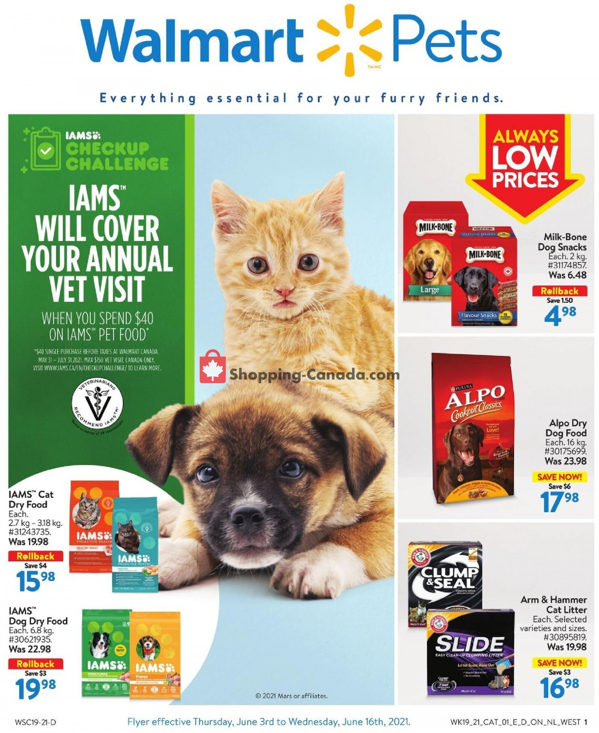 Flyer Walmart Canada - from Thursday June 3, 2021 to Wednesday June 16, 2021