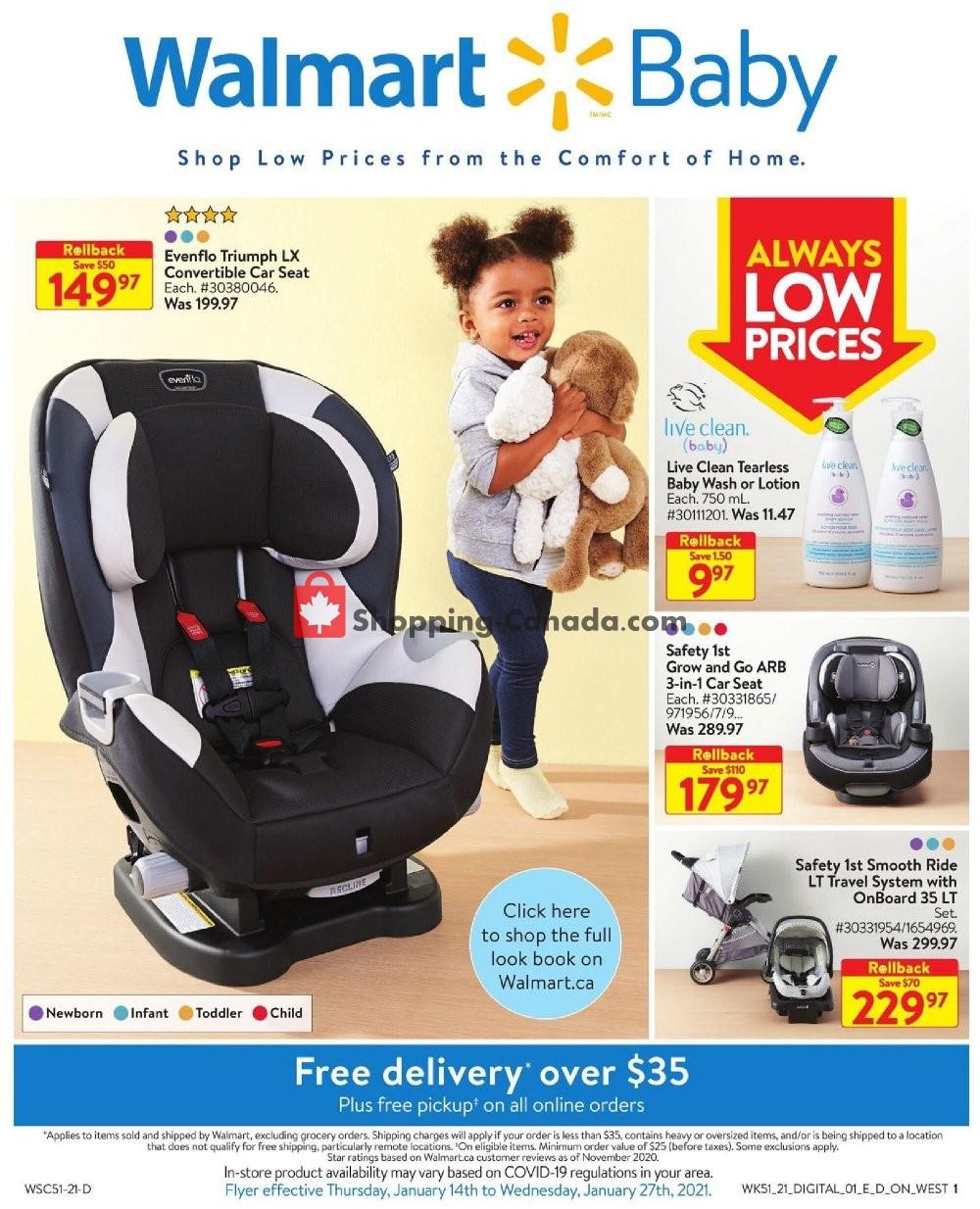 Flyer Walmart Canada - from Thursday January 14, 2021 to Wednesday January 27, 2021