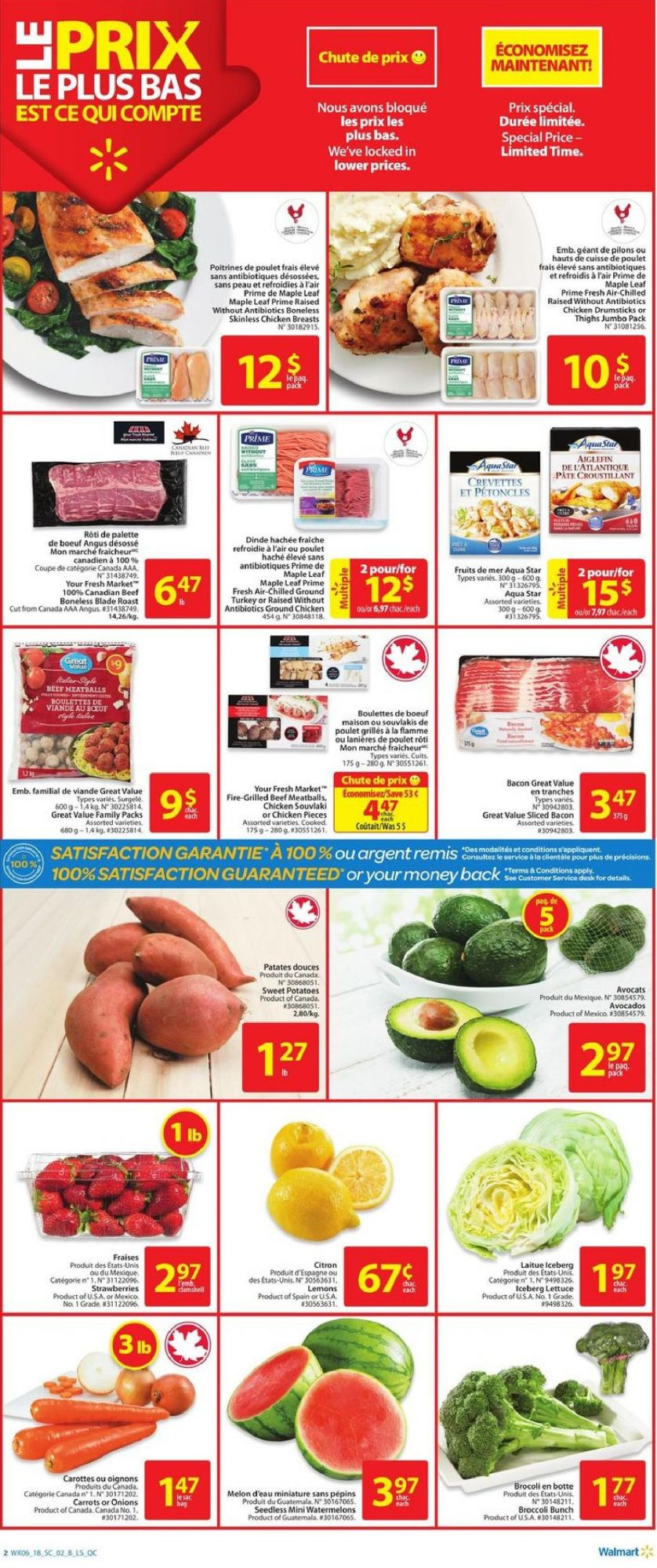 Flyer Walmart Canada - from Thursday March 1, 2018 to Wednesday March 7, 2018