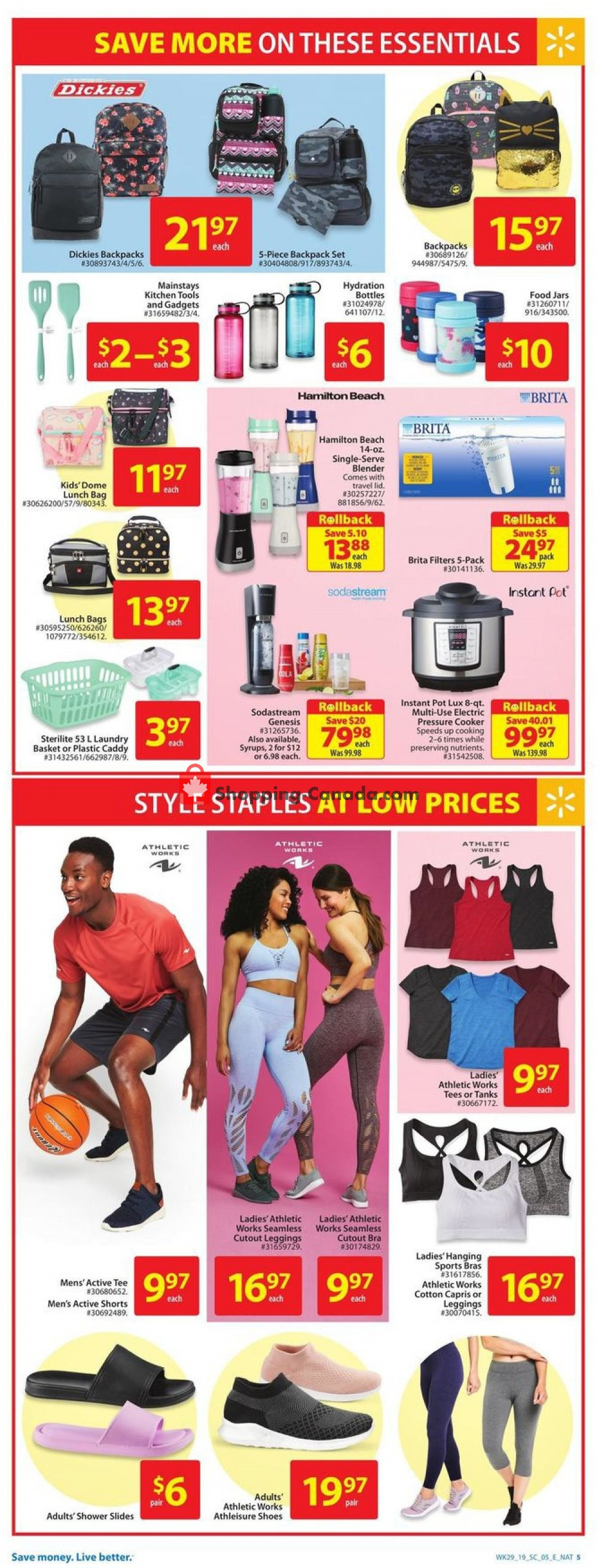 Flyer Walmart Canada - from Thursday August 8, 2019 to Wednesday August 14, 2019