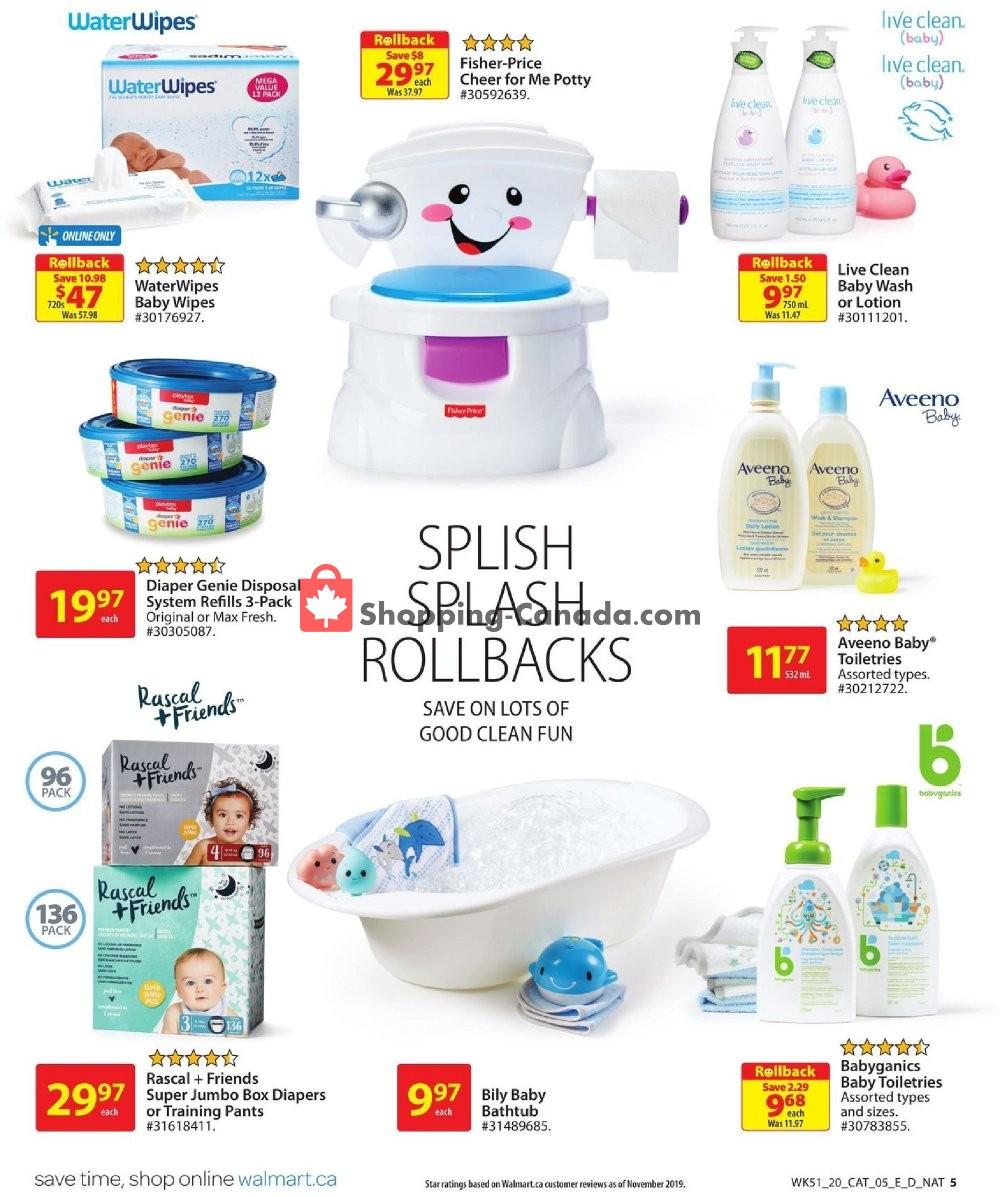 Flyer Walmart Canada - from Thursday January 9, 2020 to Wednesday January 22, 2020