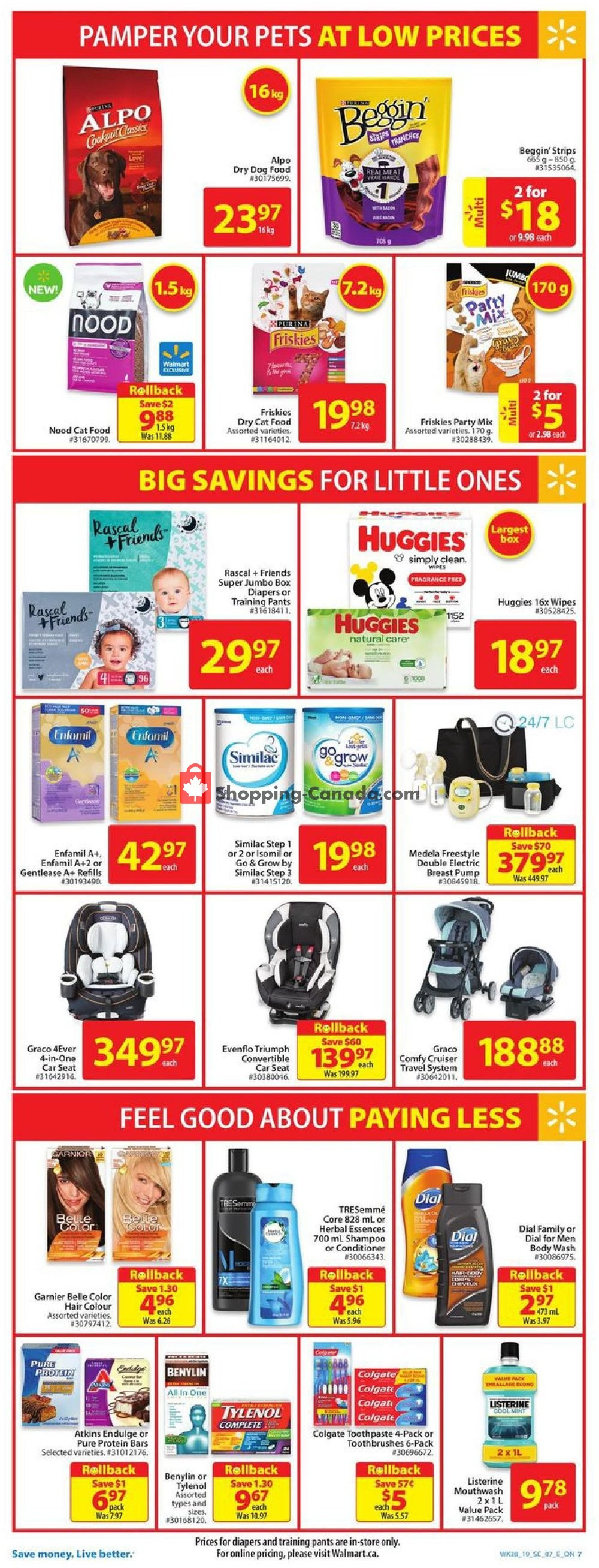 Flyer Walmart Canada - from Thursday October 10, 2019 to Wednesday October 16, 2019