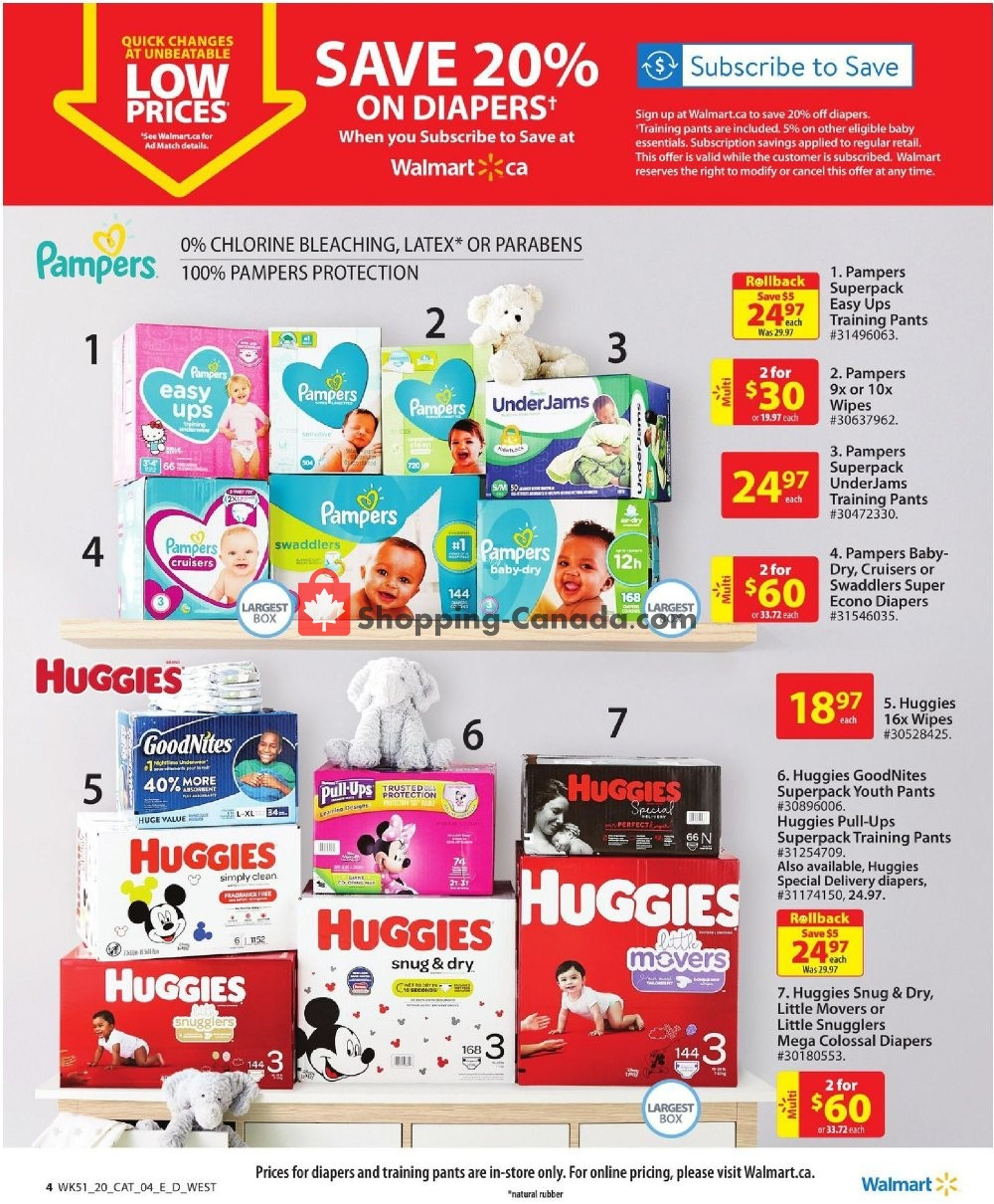Flyer Walmart Canada - from Thursday January 9, 2020 to Wednesday January 22, 2020