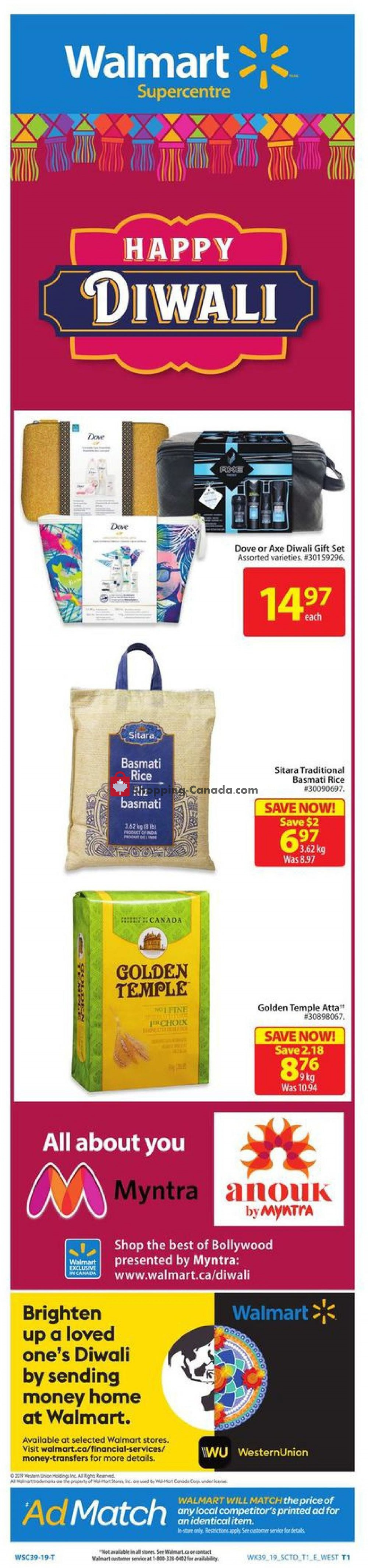 Flyer Walmart Canada - from Thursday October 17, 2019 to Wednesday October 23, 2019