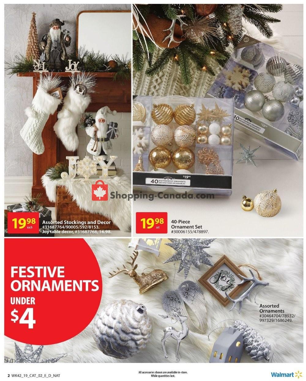 Flyer Walmart Canada - from Thursday November 7, 2019 to Wednesday November 27, 2019