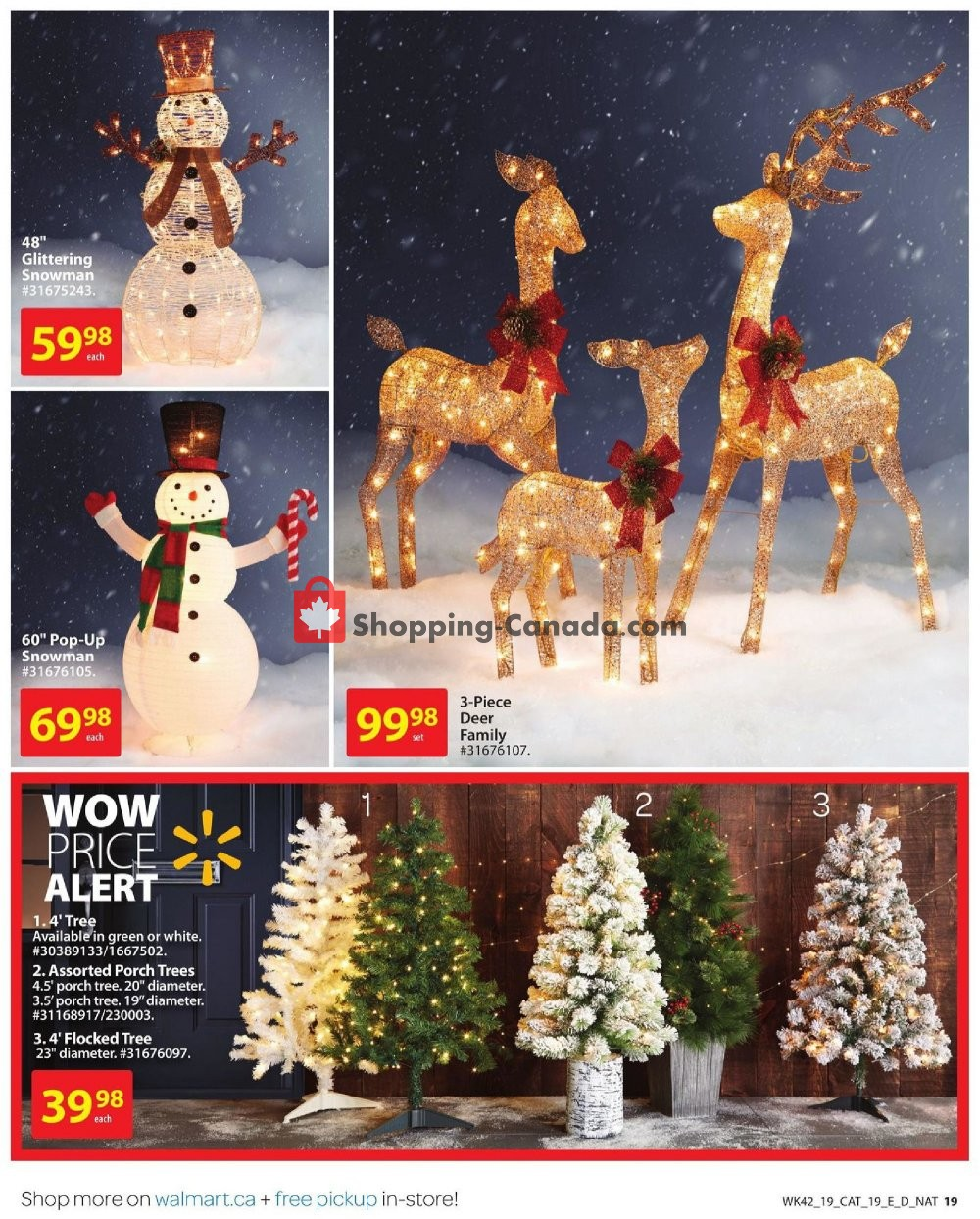 Flyer Walmart Canada - from Thursday November 7, 2019 to Wednesday November 27, 2019