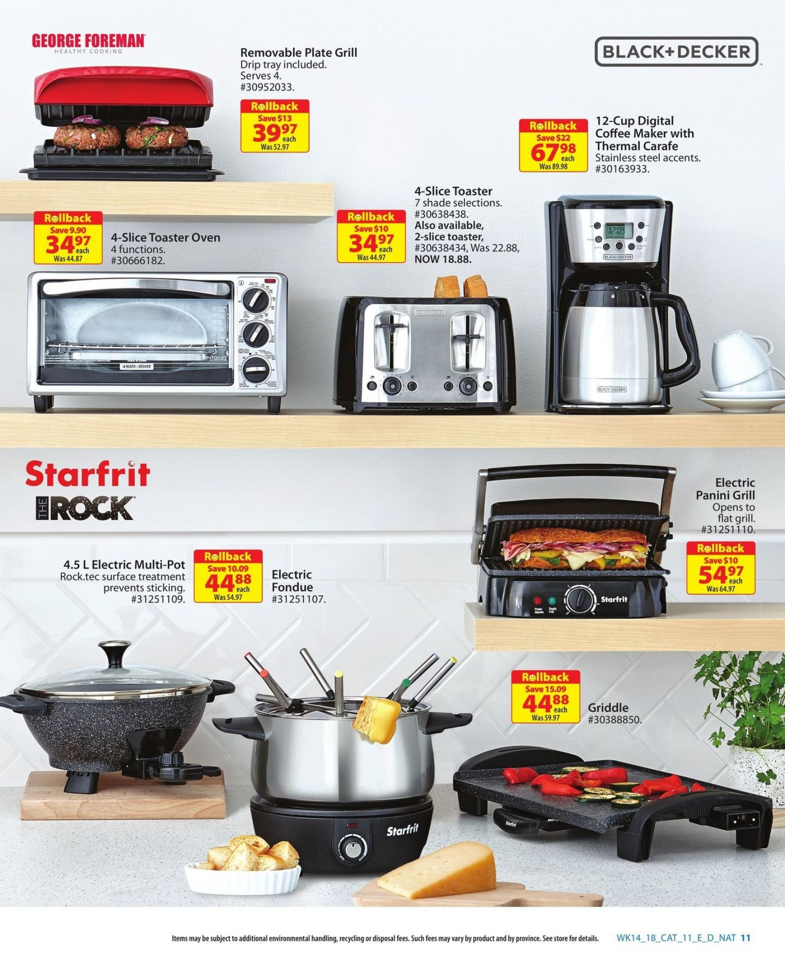 Flyer Walmart Canada - from Thursday April 26, 2018 to Sunday May 13, 2018