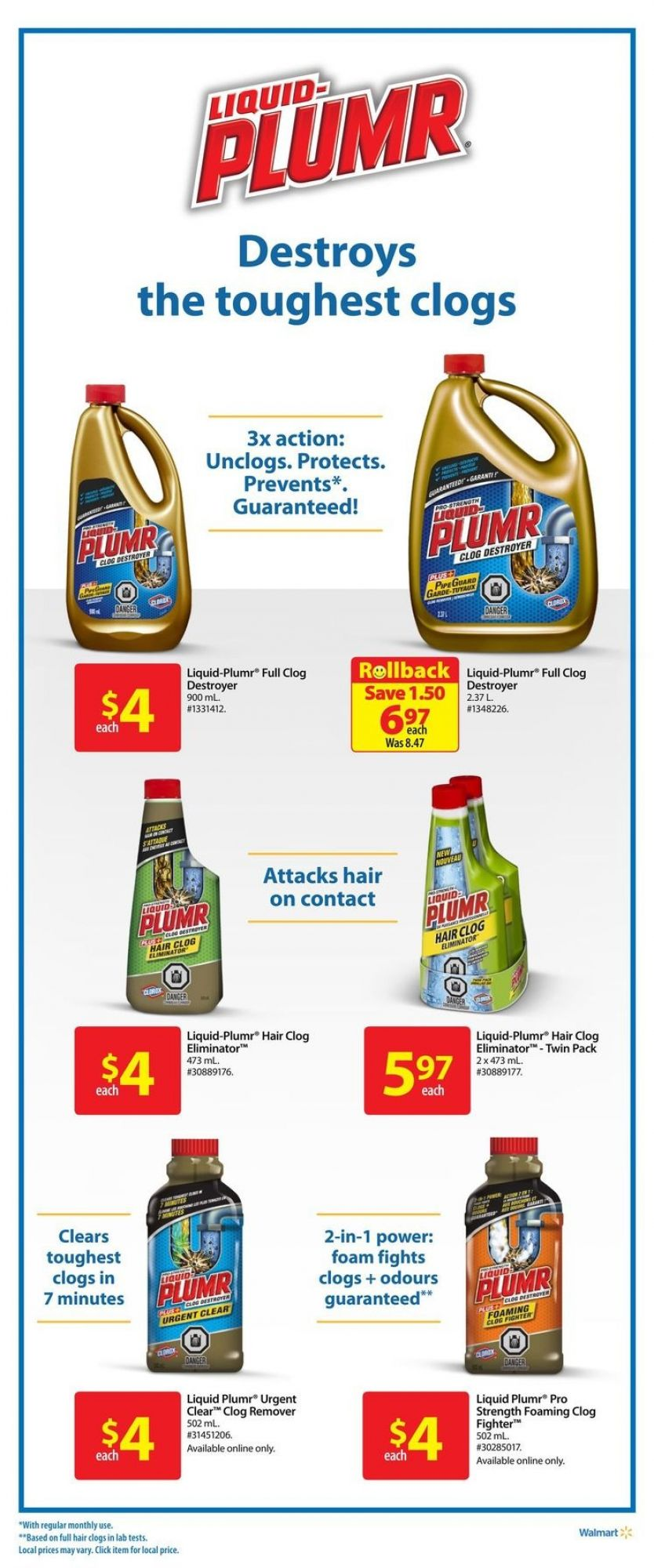Flyer Walmart Canada - from Thursday May 10, 2018 to Wednesday May 16, 2018