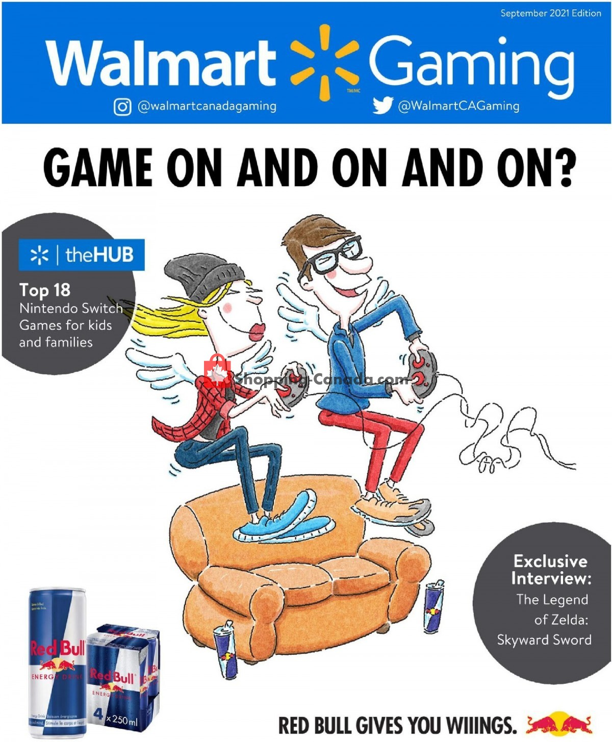 Flyer Walmart Canada - from Thursday September 2, 2021 to Wednesday January 26, 2022