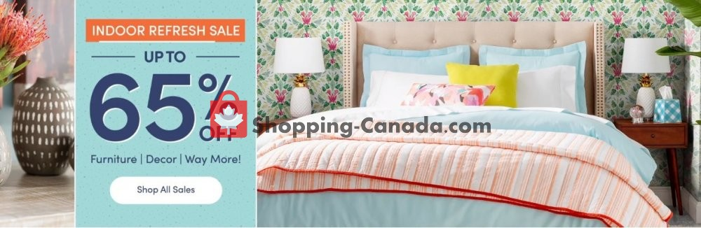 Flyer Wayfair Canada - from Thursday May 28, 2020 to Wednesday June 3, 2020