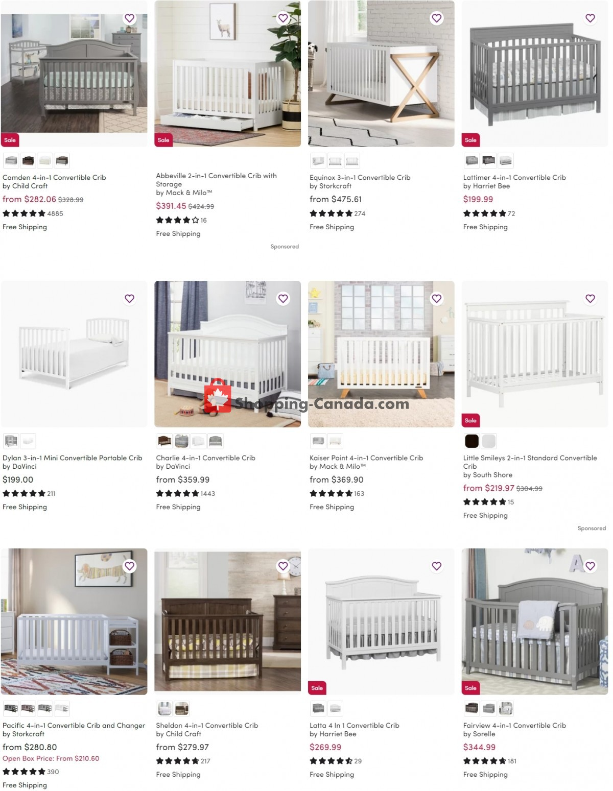 Flyer Wayfair Canada - from Wednesday June 9, 2021 to Tuesday June 15, 2021