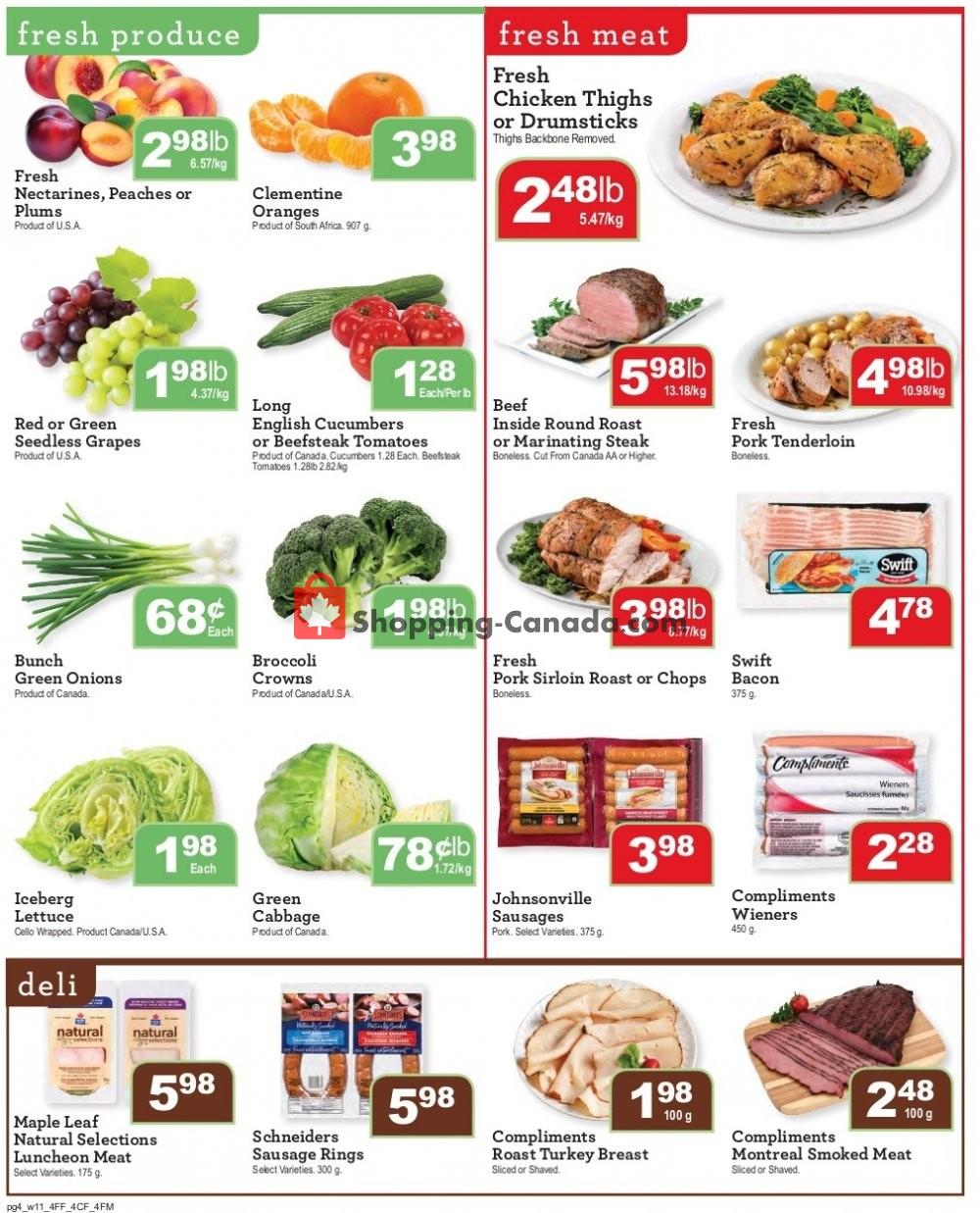 Flyer Wellburn's Food Market Canada - from Friday July 12, 2019 to Thursday July 18, 2019