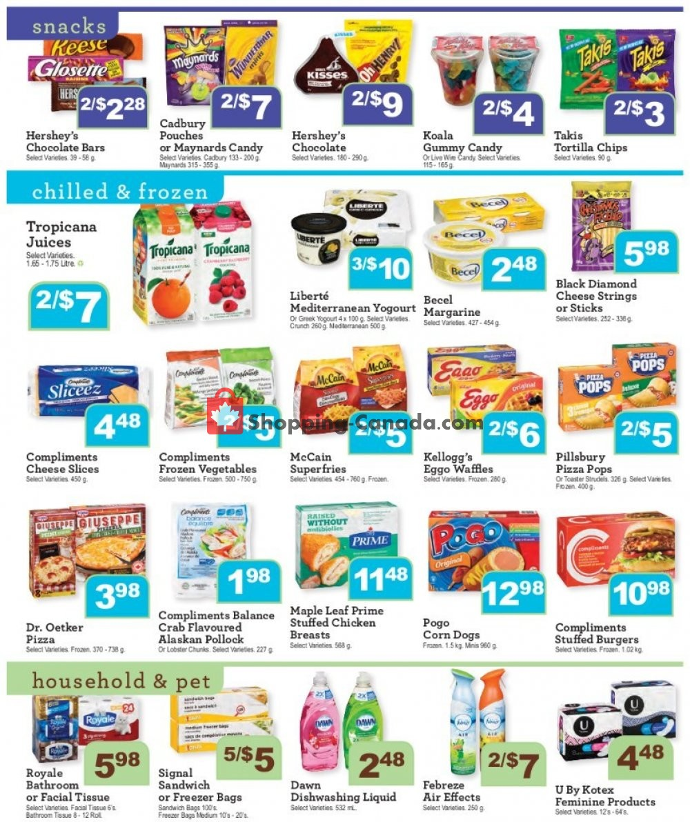 Flyer Wellburn's Food Market Canada - from Friday July 19, 2019 to Thursday July 25, 2019