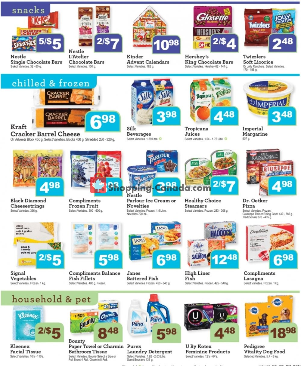 Flyer Wellburn's Food Market Canada - from Friday November 8, 2019 to Thursday November 14, 2019