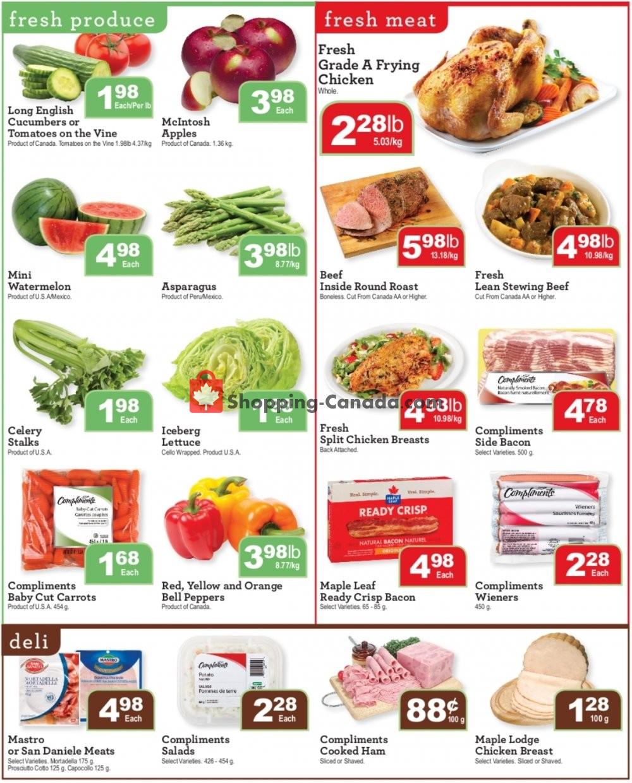 Flyer Wellburn's Food Market Canada - from Friday November 8, 2019 to Thursday November 14, 2019