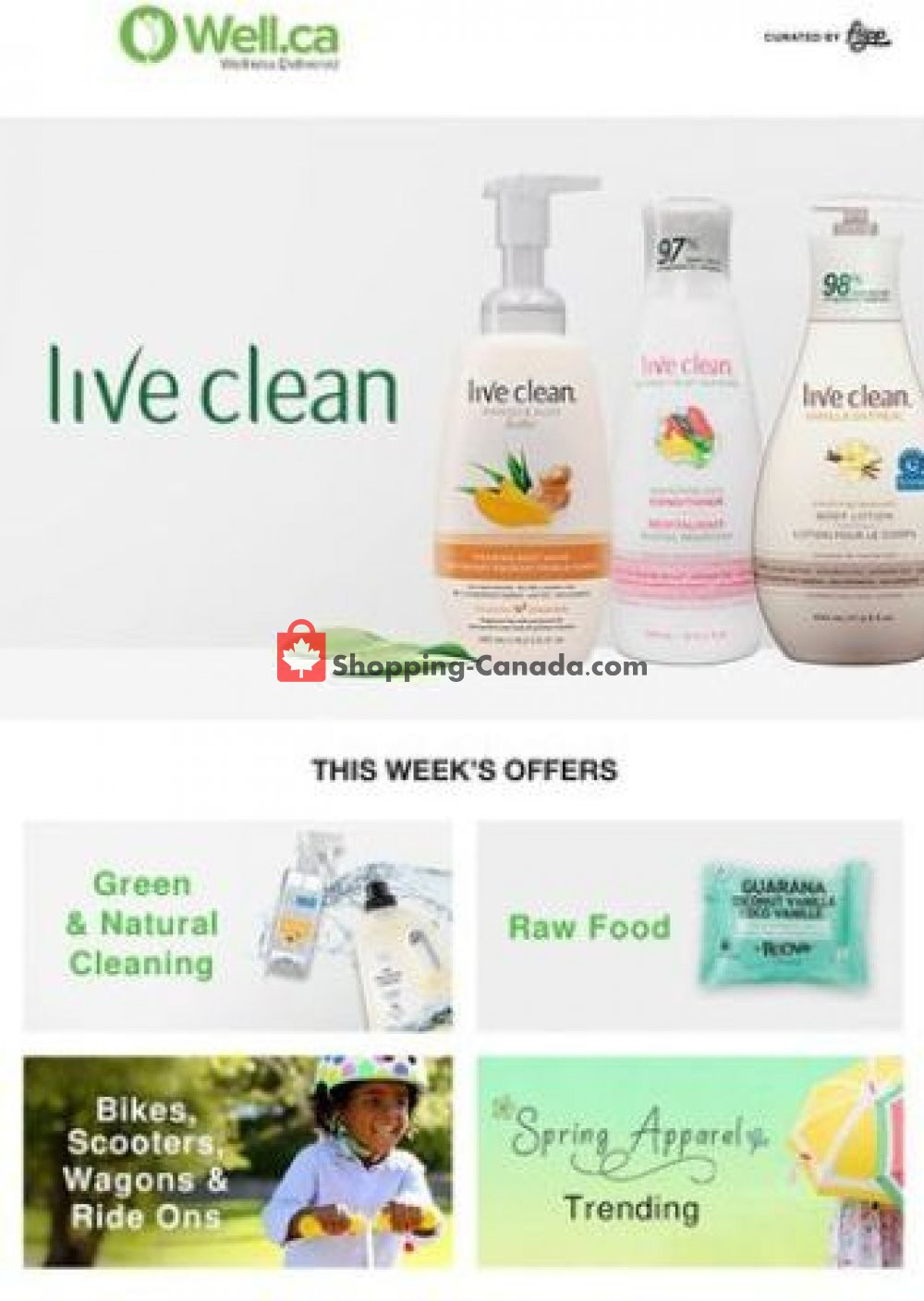 Flyer Well.ca Canada - from Tuesday April 16, 2019 to Tuesday April 23, 2019