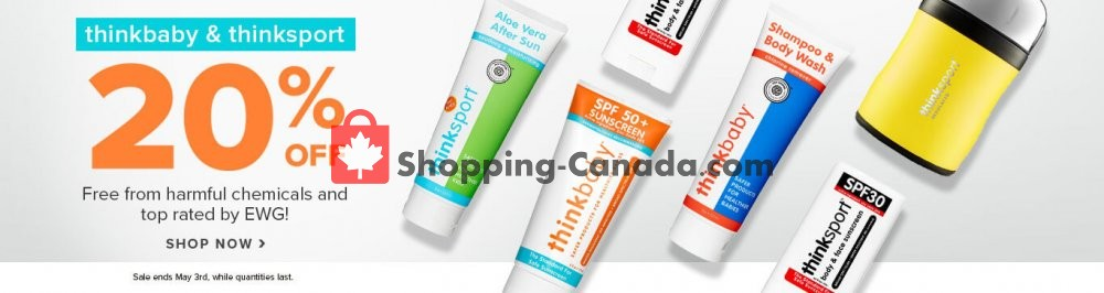Flyer Well.ca Canada - from Thursday April 30, 2020 to Sunday May 3, 2020