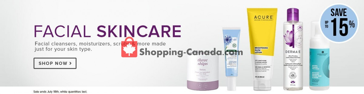 Flyer Well.ca Canada - from Monday July 12, 2021 to Sunday July 18, 2021