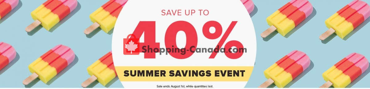 Flyer Well.ca Canada - from Monday July 19, 2021 to Sunday July 25, 2021