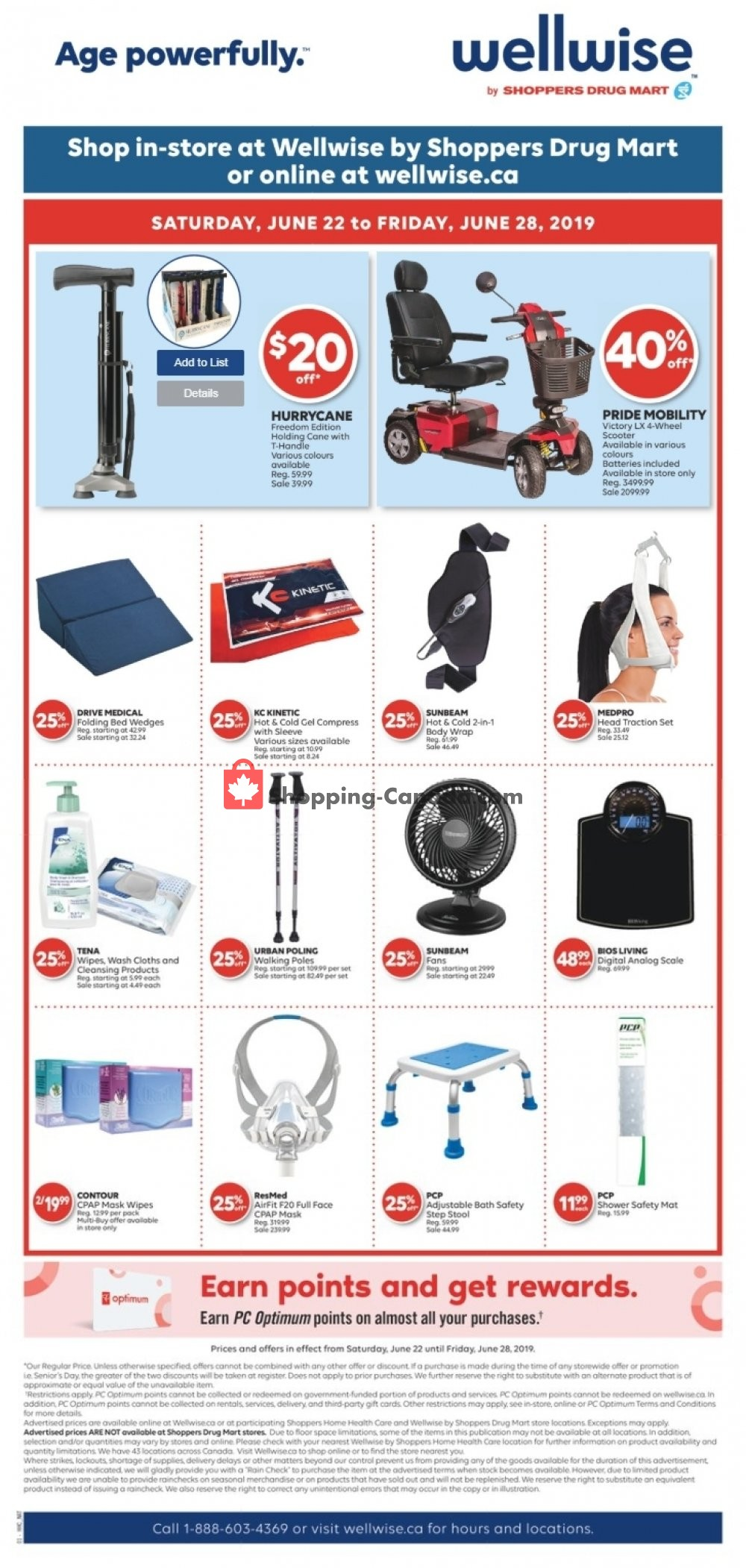 Flyer WellWise by Shoppers Drug Mart Canada - from Saturday June 22, 2019 to Friday June 28, 2019