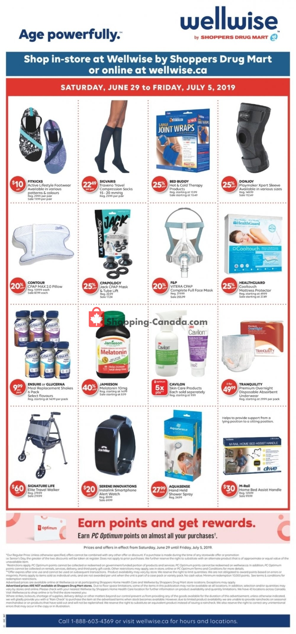 Flyer WellWise by Shoppers Drug Mart Canada - from Saturday June 29, 2019 to Friday July 5, 2019