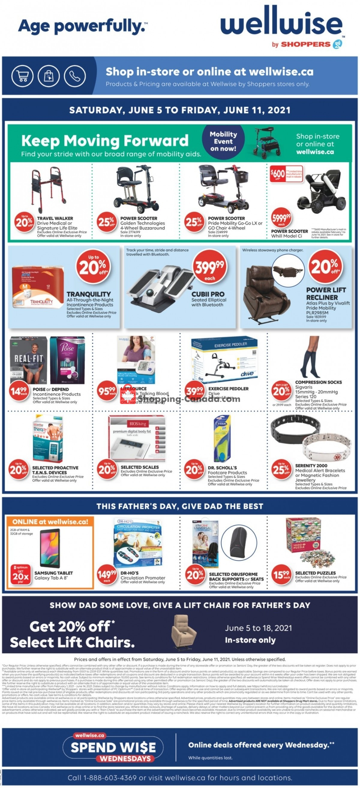 Flyer WellWise by Shoppers Drug Mart Canada - from Saturday June 5, 2021 to Friday June 11, 2021