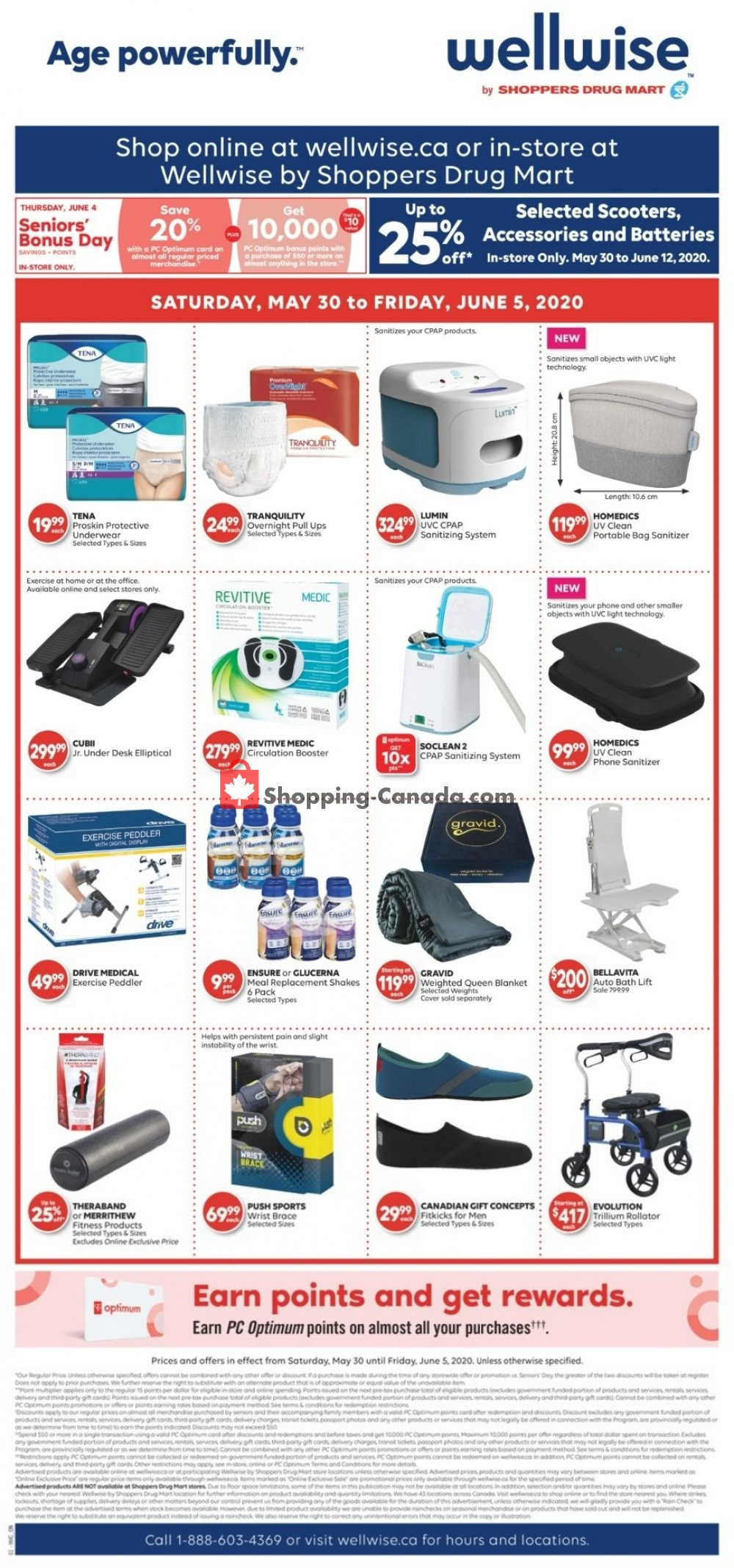 Flyer WellWise by Shoppers Drug Mart Canada - from Saturday May 30, 2020 to Friday June 5, 2020