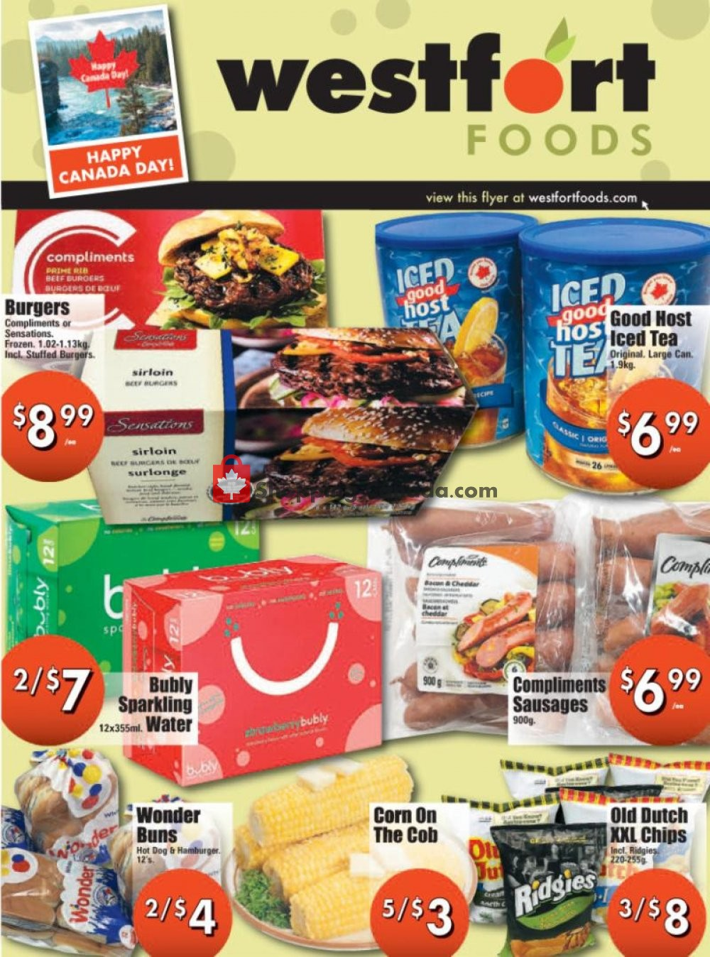 Flyer Westfort Foods Canada - from Friday June 28, 2019 to Thursday July 4, 2019