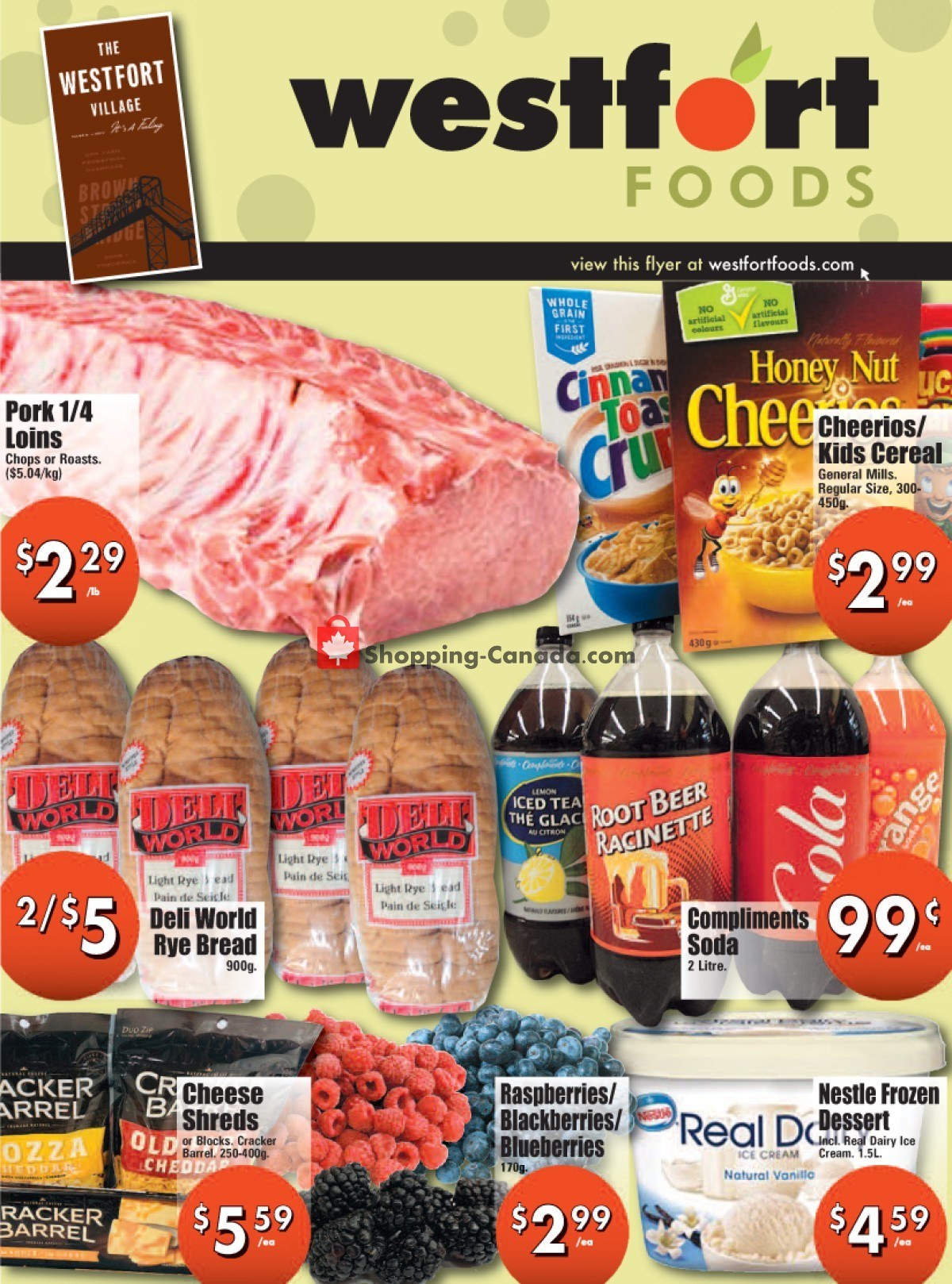 Flyer Westfort Foods Canada - from Friday April 30, 2021 to Thursday May 6, 2021