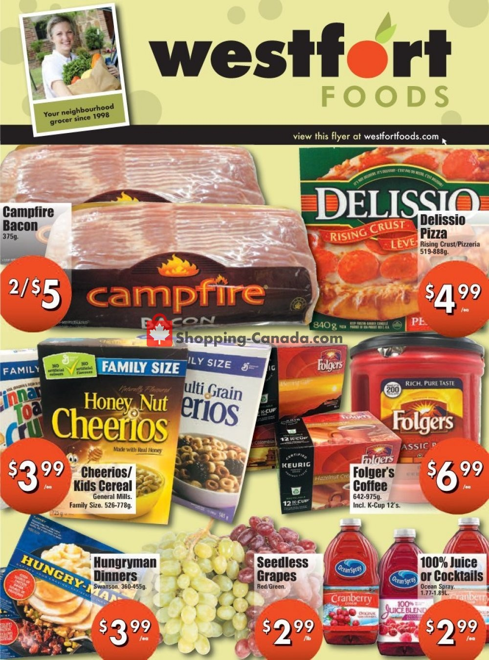 Flyer Westfort Foods Canada - from Friday January 31, 2020 to Thursday February 6, 2020