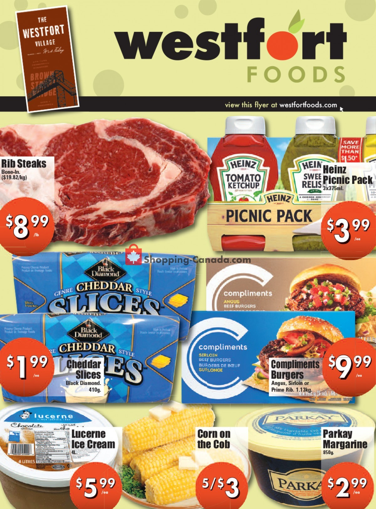 Flyer Westfort Foods Canada - from Friday July 23, 2021 to Thursday July 29, 2021
