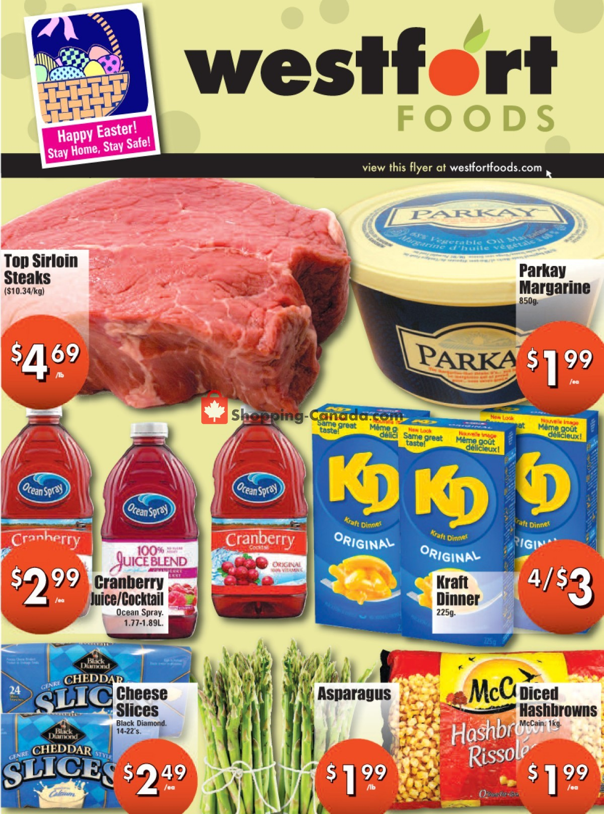 Flyer Westfort Foods Canada - from Friday April 2, 2021 to Thursday April 8, 2021