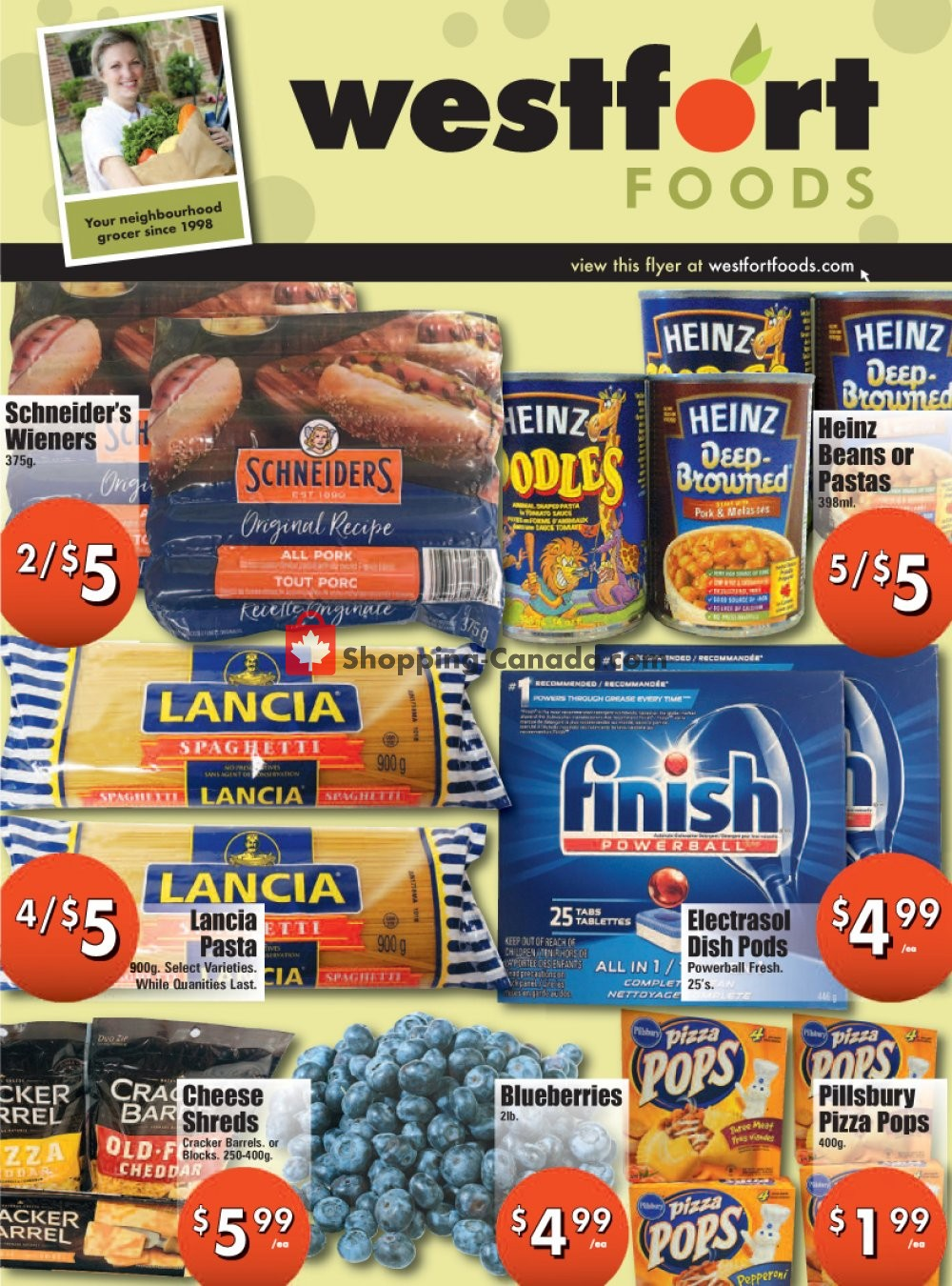 Flyer Westfort Foods Canada - from Friday August 2, 2019 to Thursday August 8, 2019