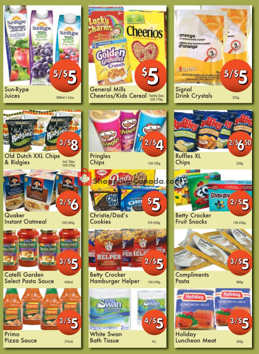 Flyer Westfort Foods Canada - from Friday January 10, 2020 to Thursday January 16, 2020