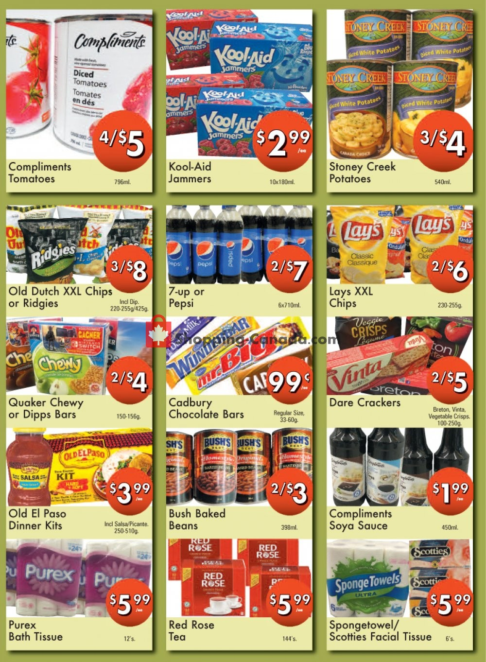 Flyer Westfort Foods Canada - from Friday July 12, 2019 to Thursday July 18, 2019