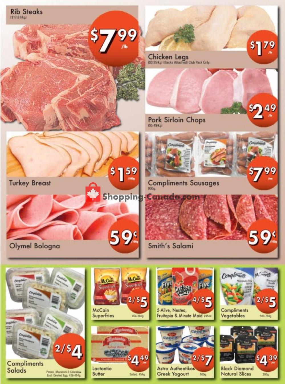 Flyer Westfort Foods Canada - from Friday July 19, 2019 to Thursday July 25, 2019