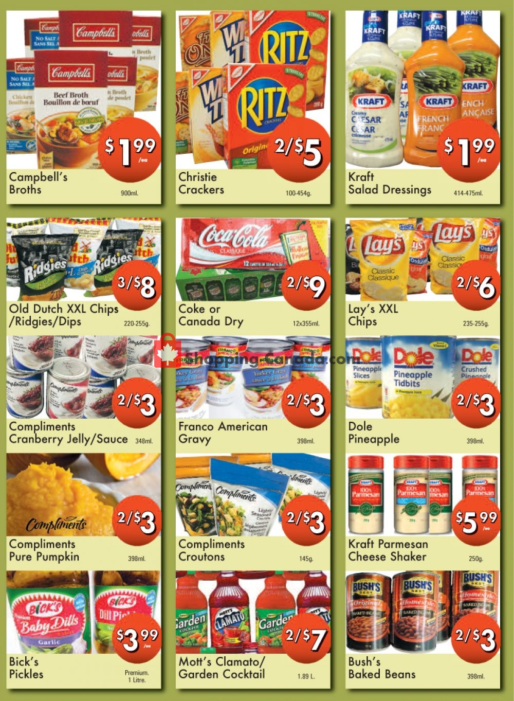 Flyer Westfort Foods Canada - from Friday October 4, 2019 to Thursday October 10, 2019